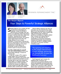 4 steps to powerful strategic alliances